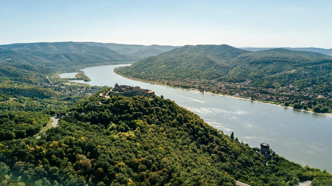 Csúnyán betett az alacsony vízállás az új magyar Duna-híd építésének