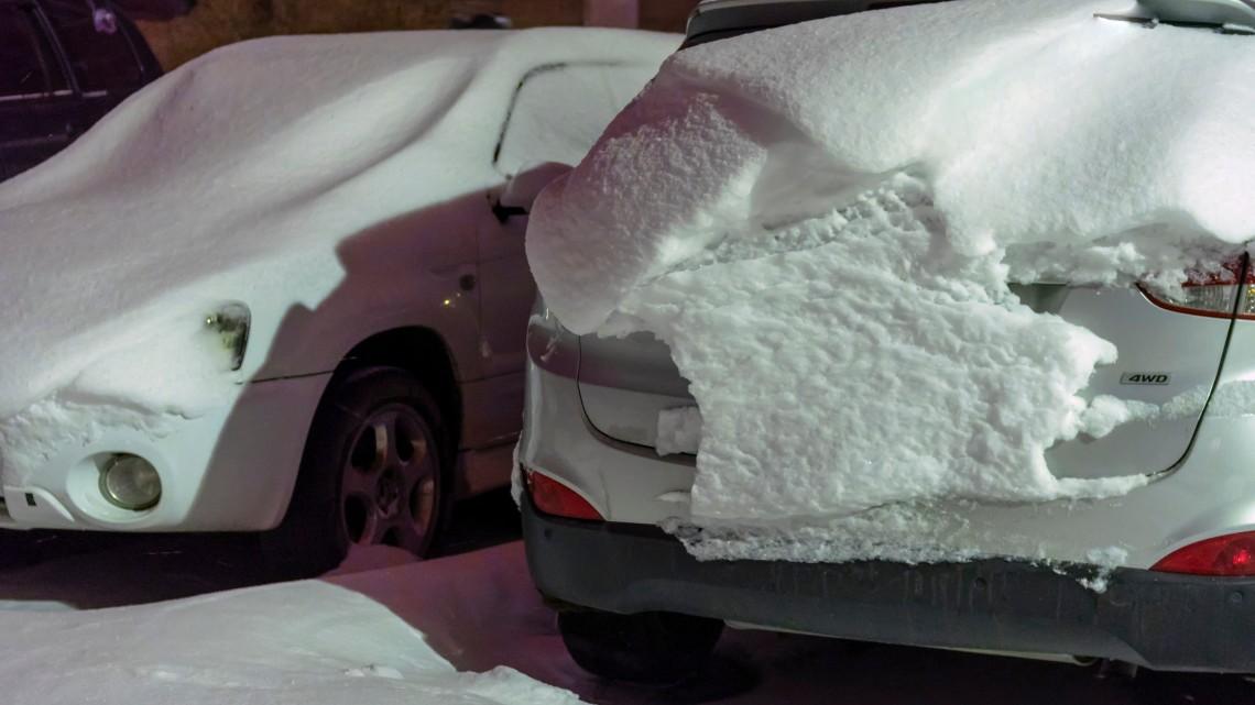 Fotókon a havazás: így érkezett meg a tél Magyarországra