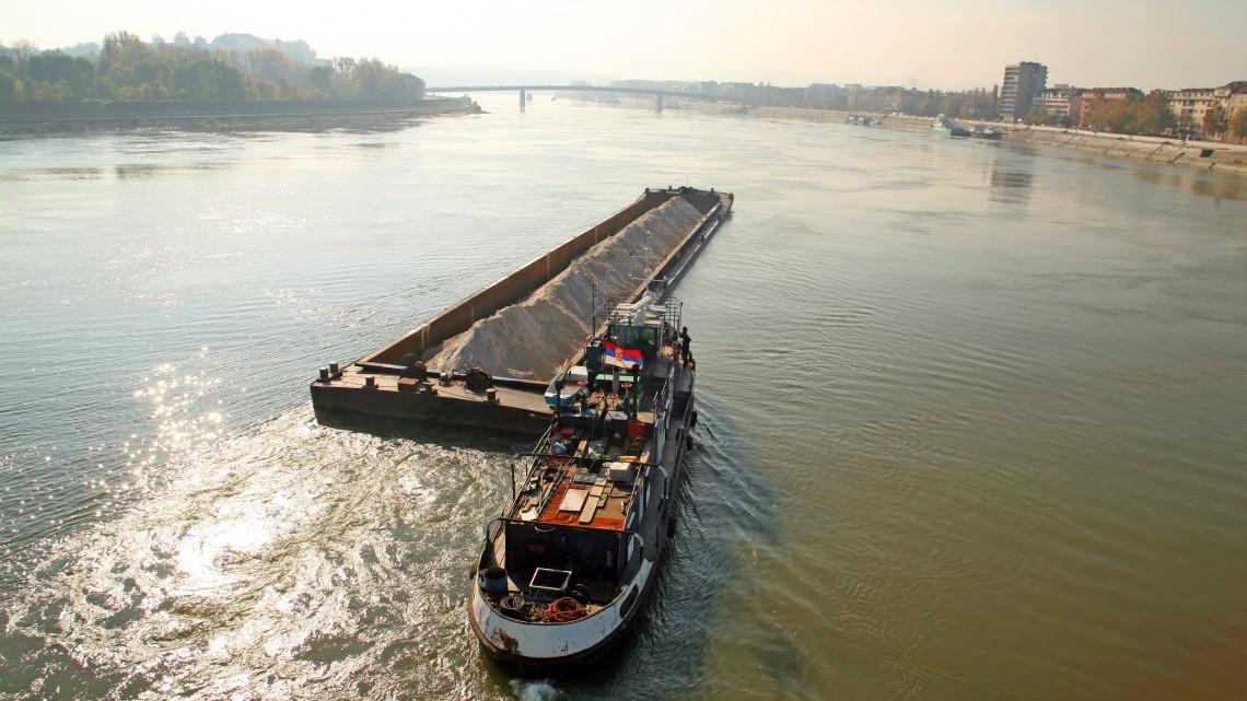 Durván alacsony a Duna vízállása: nem tudják elszállítani a gabonát a termelők