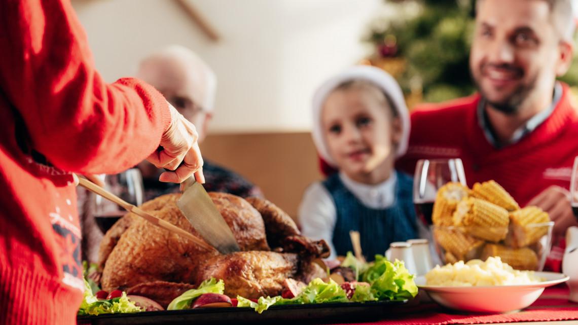 Még mindig népszerű fogás karácsonykor a pulyka