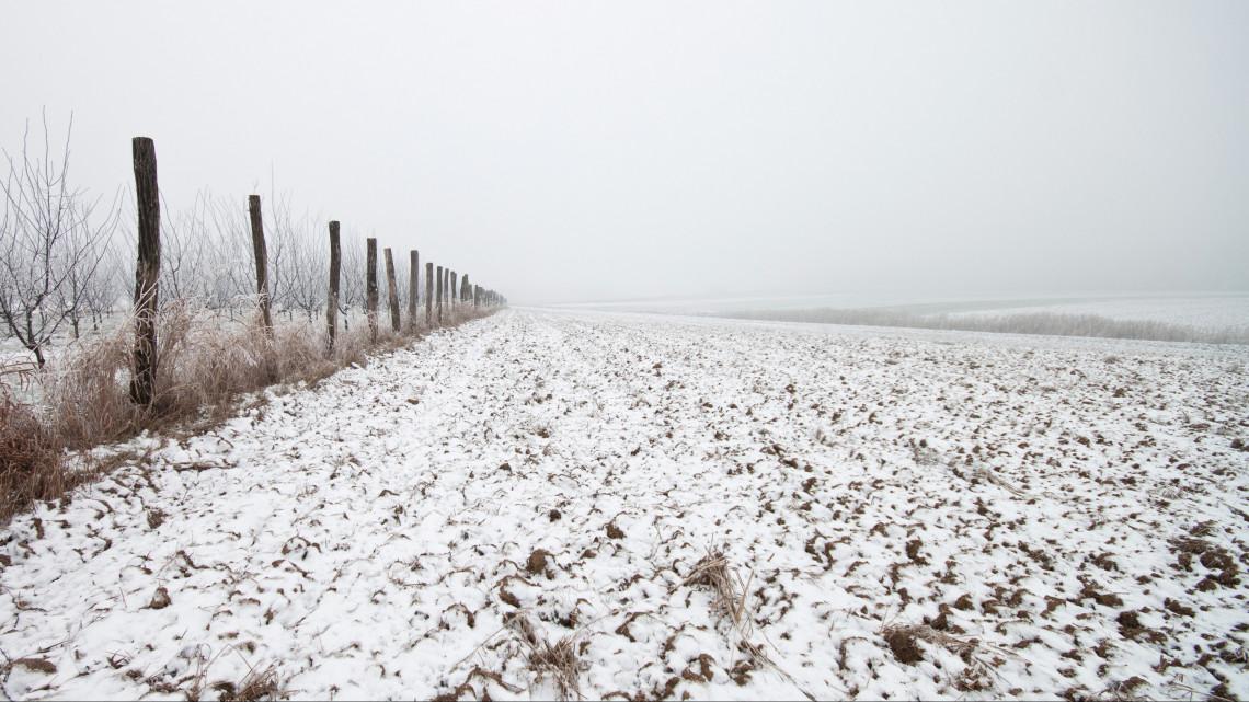 Még több havat szeretnének a gazdák földjeikre
