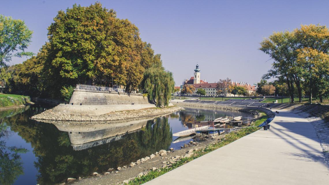 Úttörő fejlesztések Győrben: örülhetnek a bringások