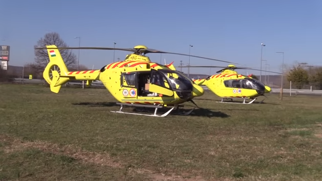 Új helikoptereket kapott a mentőszolgálat: két vidéki város is örülhet