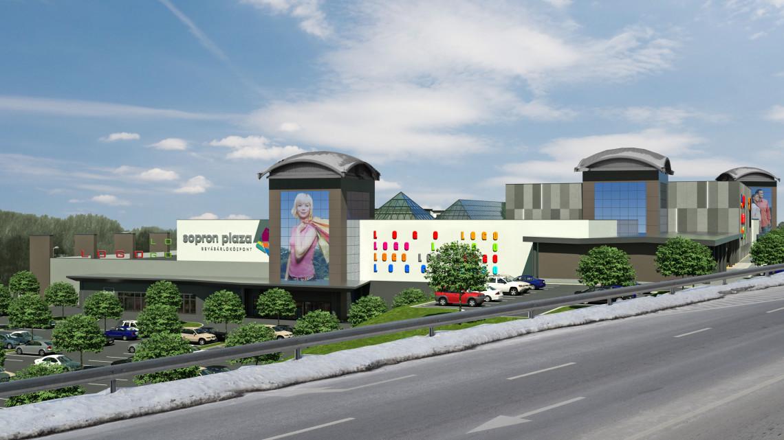 Nyáron kívül-belül megújul a Sopron Plaza: parkoló és új boltok is létesülnek