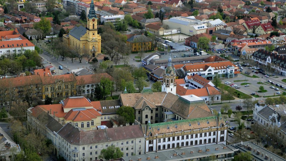 Megújul Kiskunfélegyháza belvárosa: a munkálatok várhatóan ősszel fejeződnek be