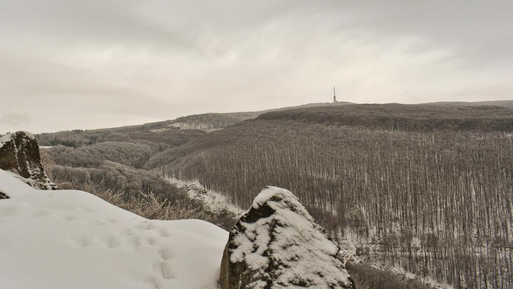 Erre senki nem számított: havazik a Kékestetőn