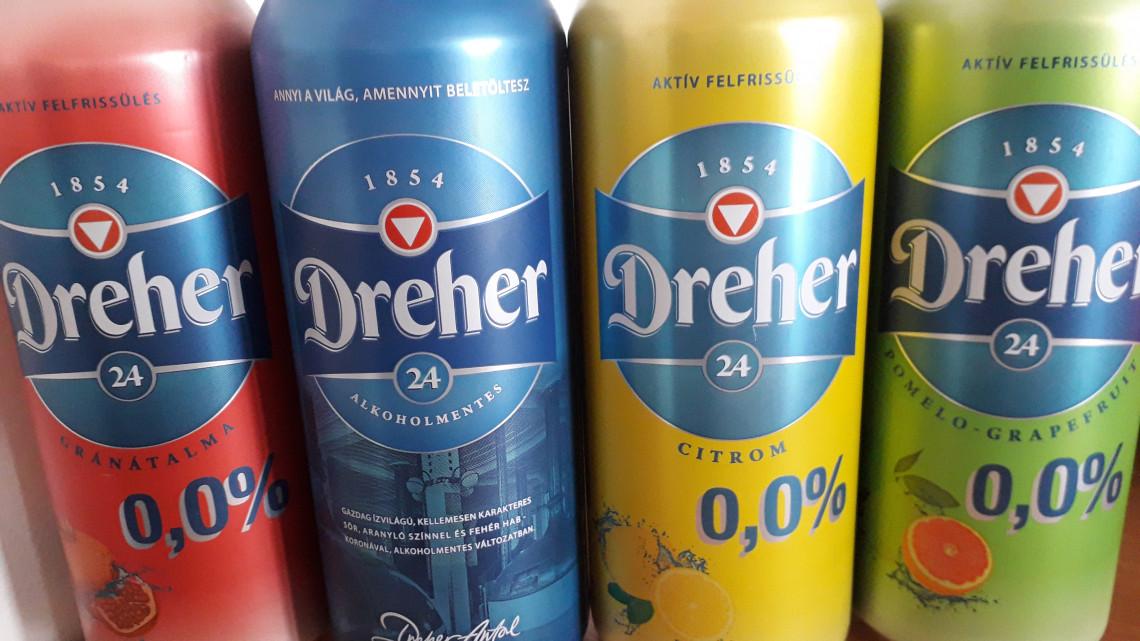 Innál, de vezetsz? Itt a megoldás: 3 alkoholmentes termékkel bővül a Dreher