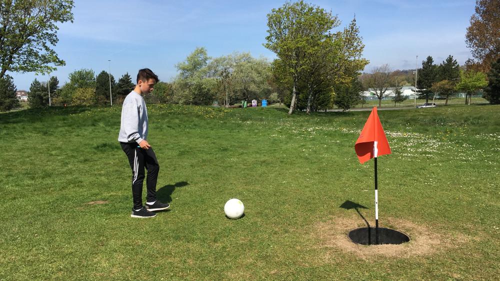 Ilyen még nem volt: footgolf pálya épült a magyar kisvárosban
