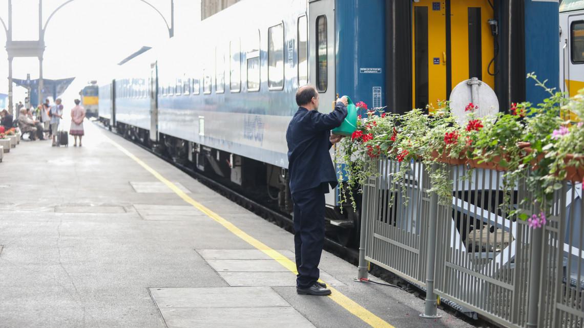 Megtisztulnak a vasútállomások: gondnokokat alkalmaz a MÁV