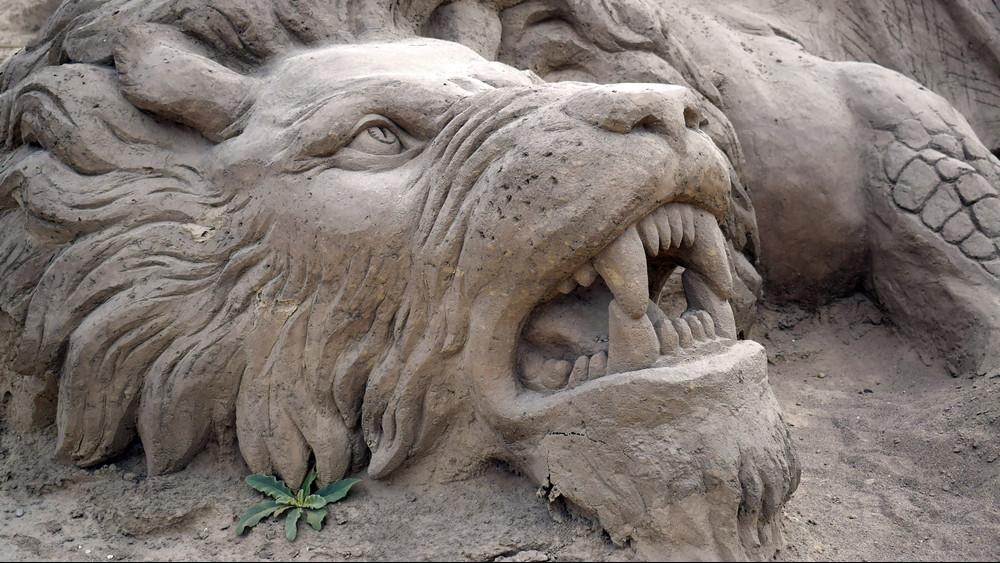 Különleges, ingyenes program: óriási homokszobrokat lehet megnézni Tinnyén