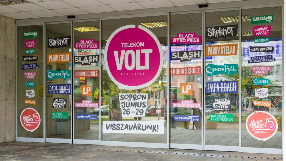 Óriási látogatottság a VOLT Fesztiválon: 143 ezren buliztak Sopronban