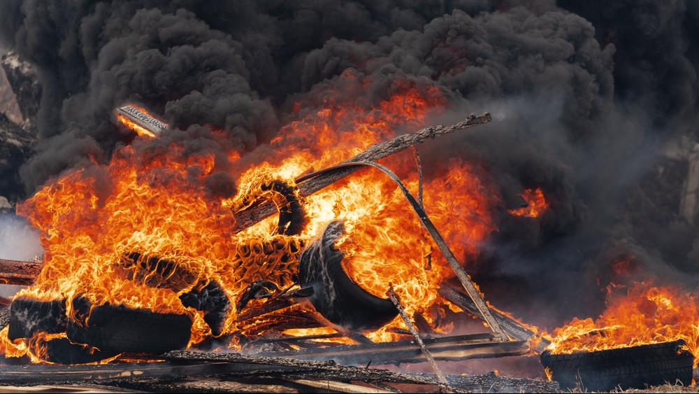 Lángok pusztítottak a hulladéklerakóban: 3000 négyzetméteren égett a szemét