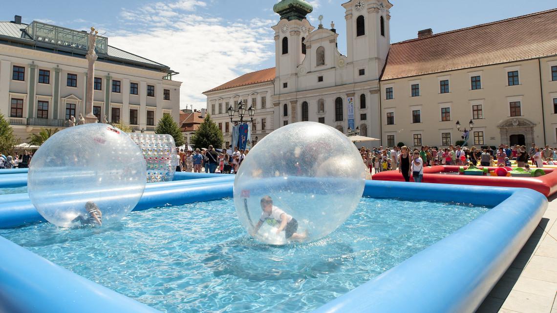Közeleg a gyerekek ideje Győrött: pénteken kezdődik a Győrkőcfesztivál!