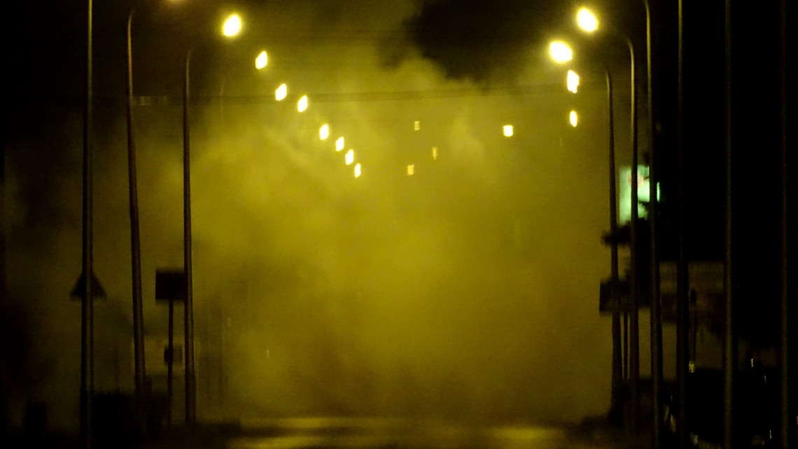 Brutális füst és por: mi történt Pápán?