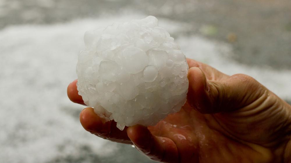 Ítéletidő: annyi jég esett Vas megyében, mintha havazott volna + videó