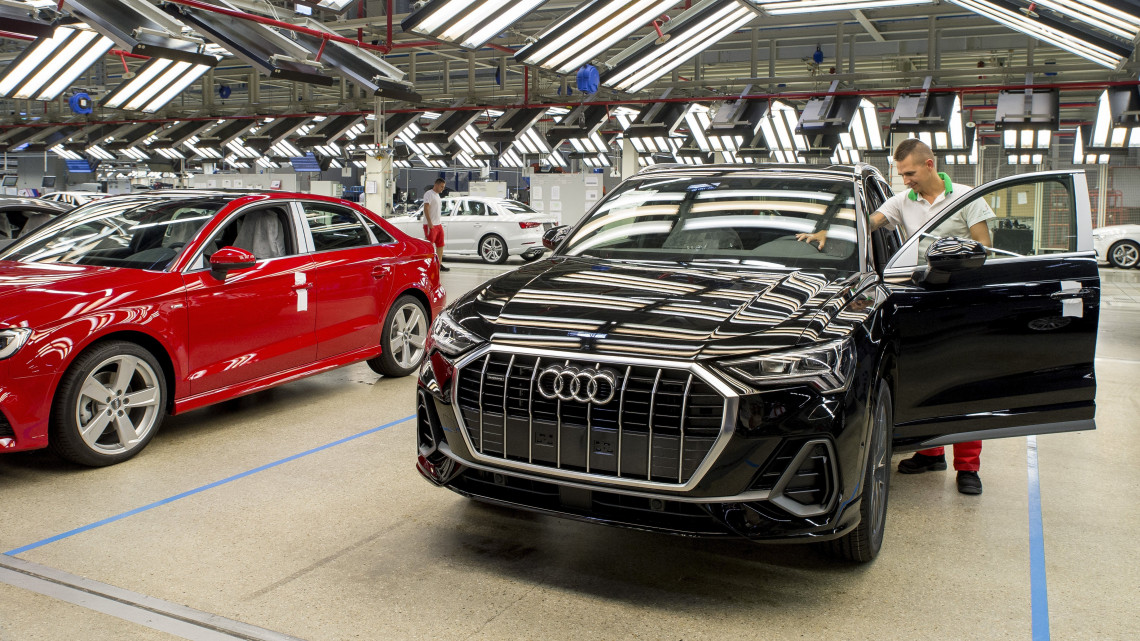Újdonság a győri Audi-gyárban: ezt kell tudni a legújabb itthon gyártott modellről