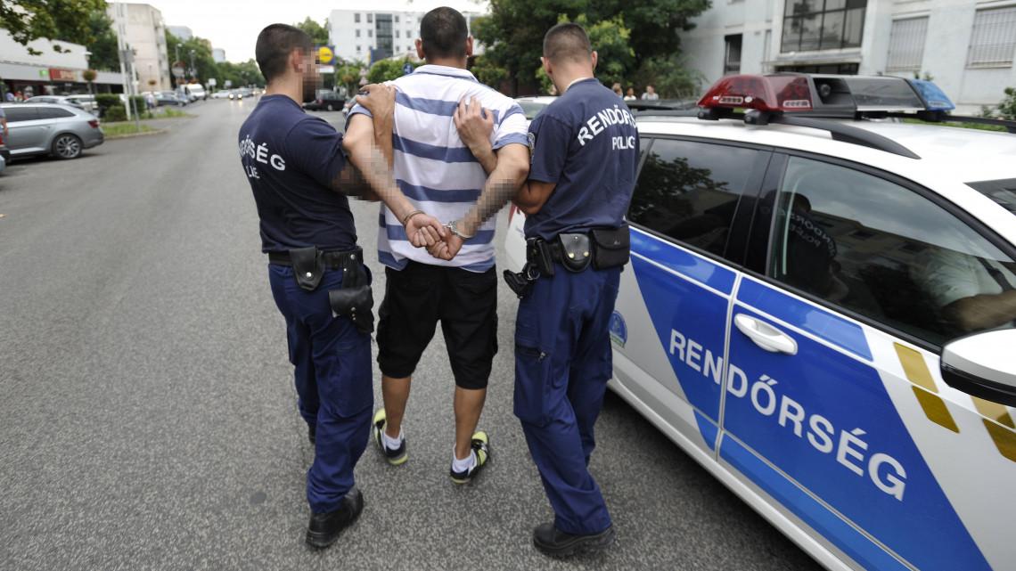 Nem él meg másodállás nélkül a magyar rendőr: egyre nagyobb a bérfeszültség