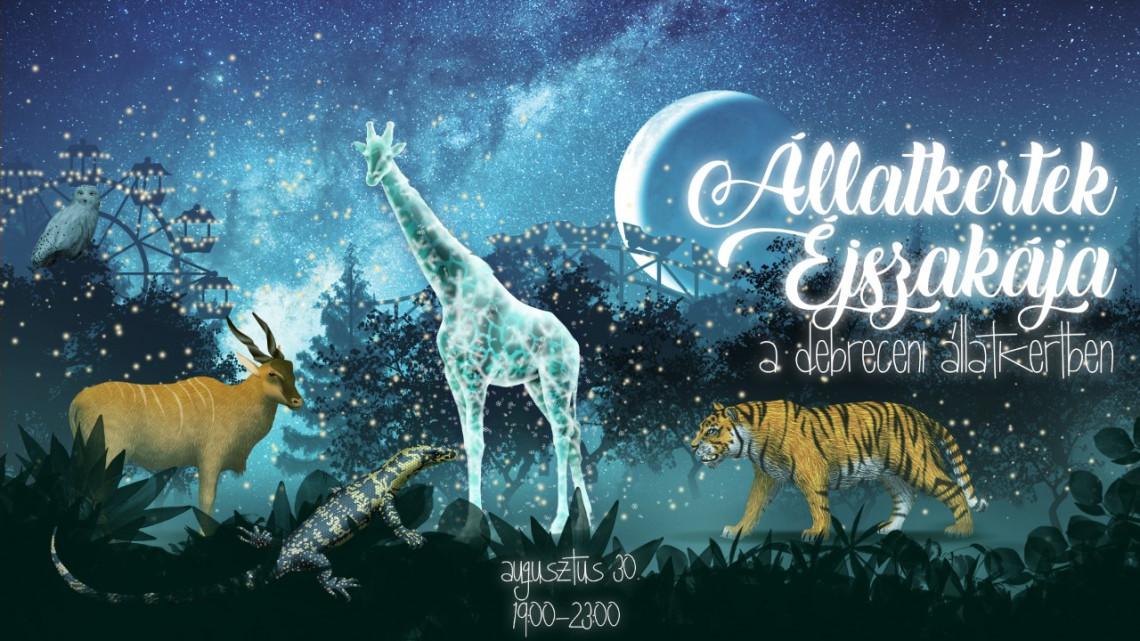 Állatkertek Éjszakája: izgalmas programokkal várnak Debrecenben