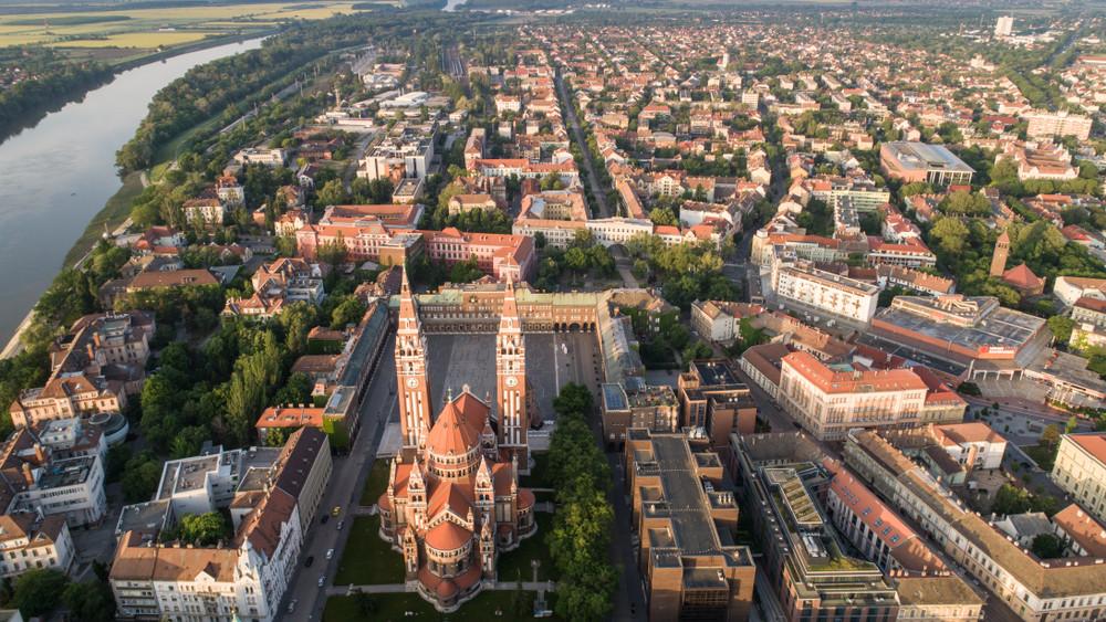 Milliárdokból újul meg Szeged kiemelt része: itt hoznak létre zöldterületeket