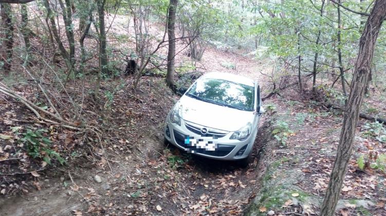 Szurdokba szorult egy autós: így mentették ki a Soproni-hegységből