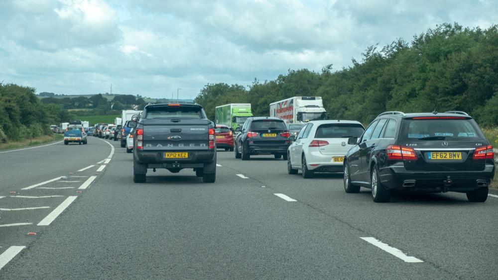 Kész lett egy újabb szakasz: szépen épül az M4-es gyorsforgalmi út
