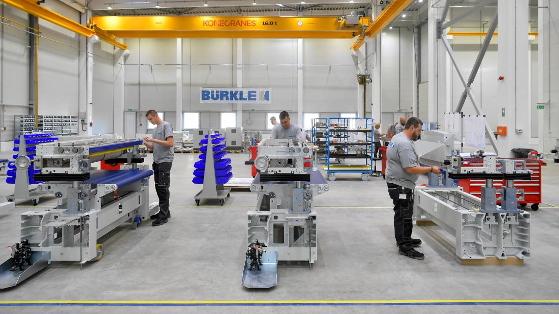 Debrecenbe újabb német cég települt: átadták a Bürkle gépgyártó üzemét