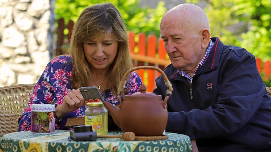 Halad a korral a bükki füvesember: mobilappon ad tanácsokat minden nap