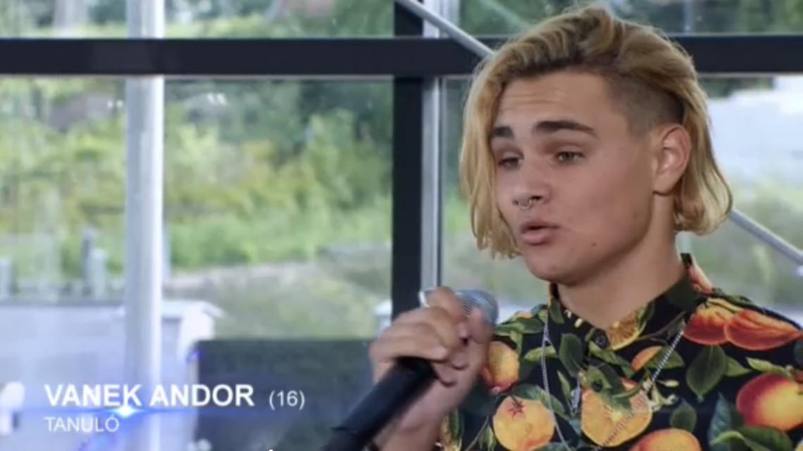 Ezen az aprócska településen él Vanek Andor, az X-Faktor 9. évadának fiatal tehetsége