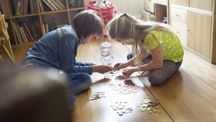 Meglepő eredmény: így tájékozódnak a gyerekek a pénz kezeléséről