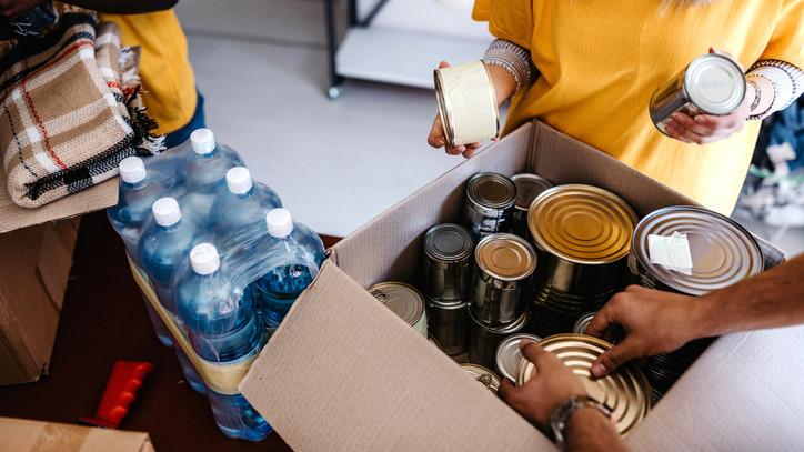 Sikeres akció: több tonna élelmiszer gyűlt össze a rászoruló családoknak