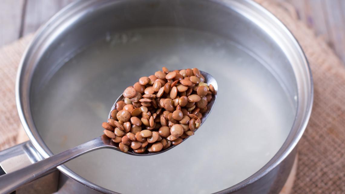 Lencseleves recept: lencseleves füstölt hússal, lencseleves kolbásszal, lencseleves virslivel