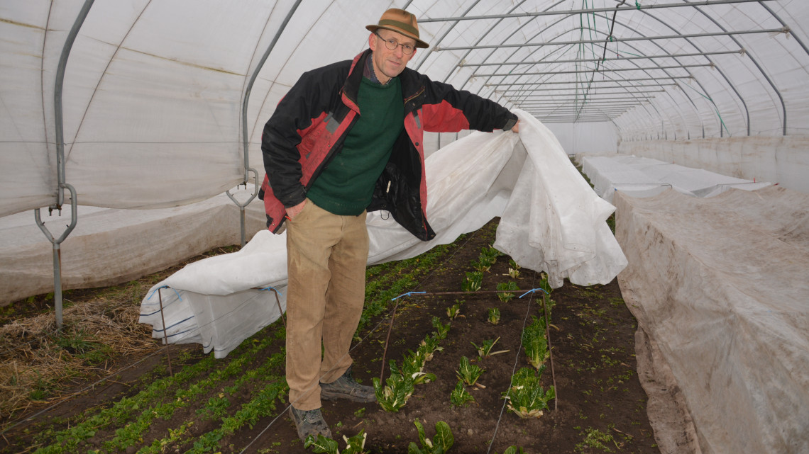 Zseniális trükkel dacolnak a téllel ebben a vidéki biogazdaságban