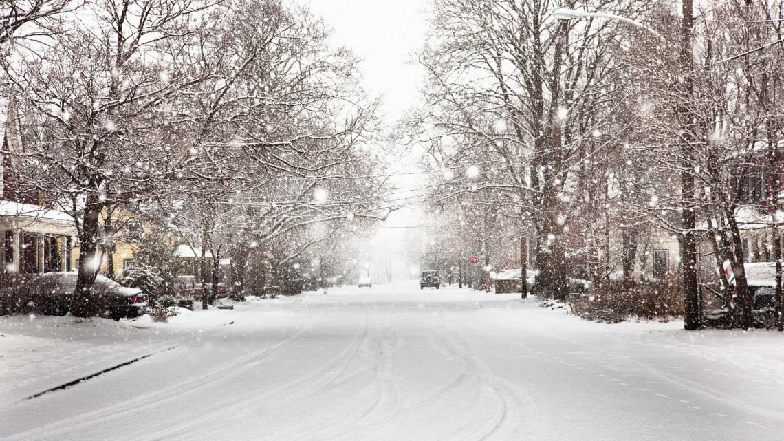 Ismét itt a tél: így néz ki most a hóval borított táj
