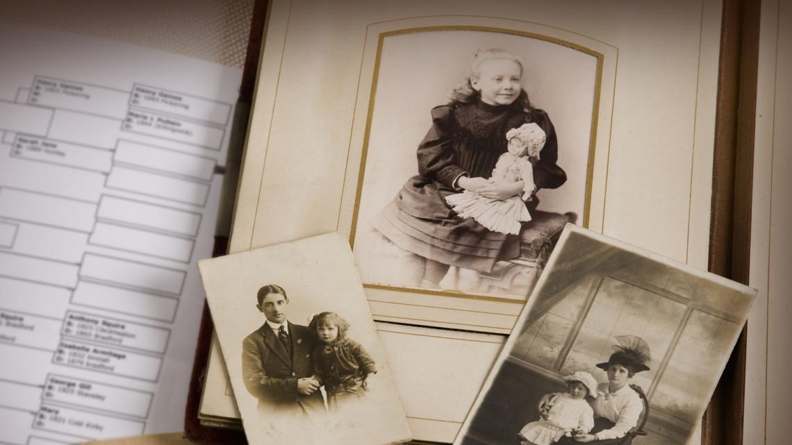 Itt megtalálhatod rég elveszett rokonaid: családfakutatás, családtörténeti kutatás, anyakönyvek