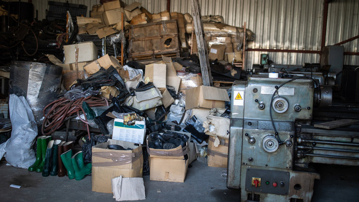 Lecsapott a NAV: több tonna illegális fémhulladékot foglalt le