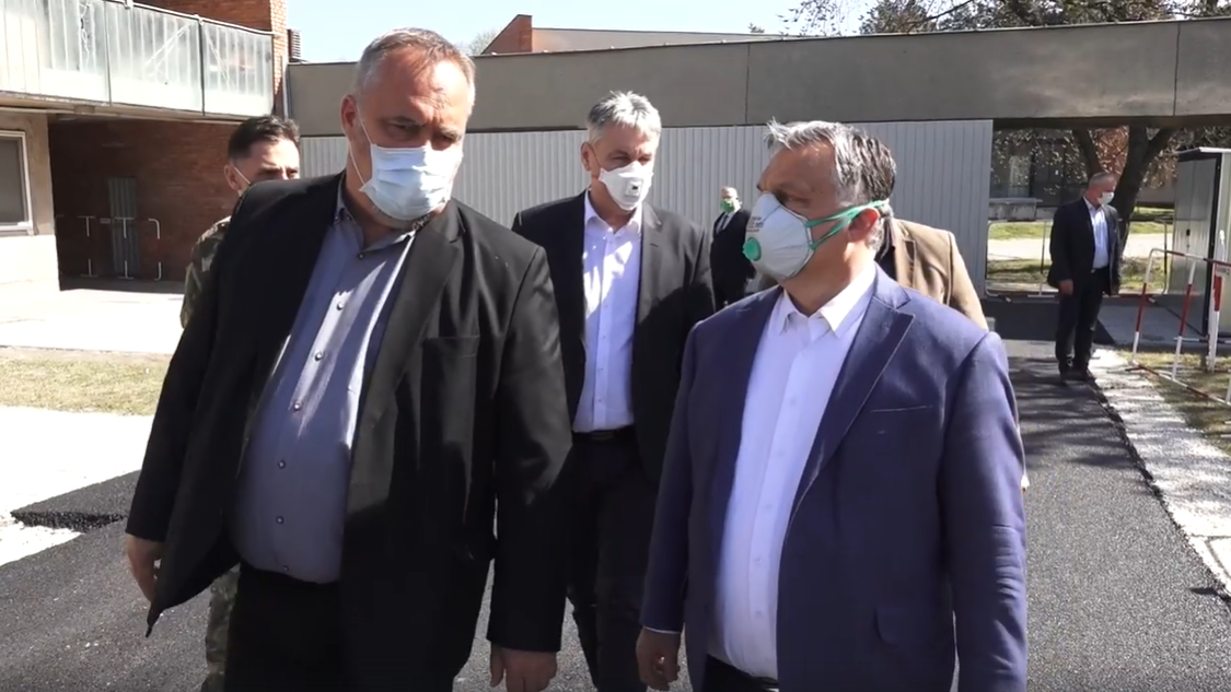 Jobban vagyok, mint érdemlem - Orbán Viktor járványkórházban járt