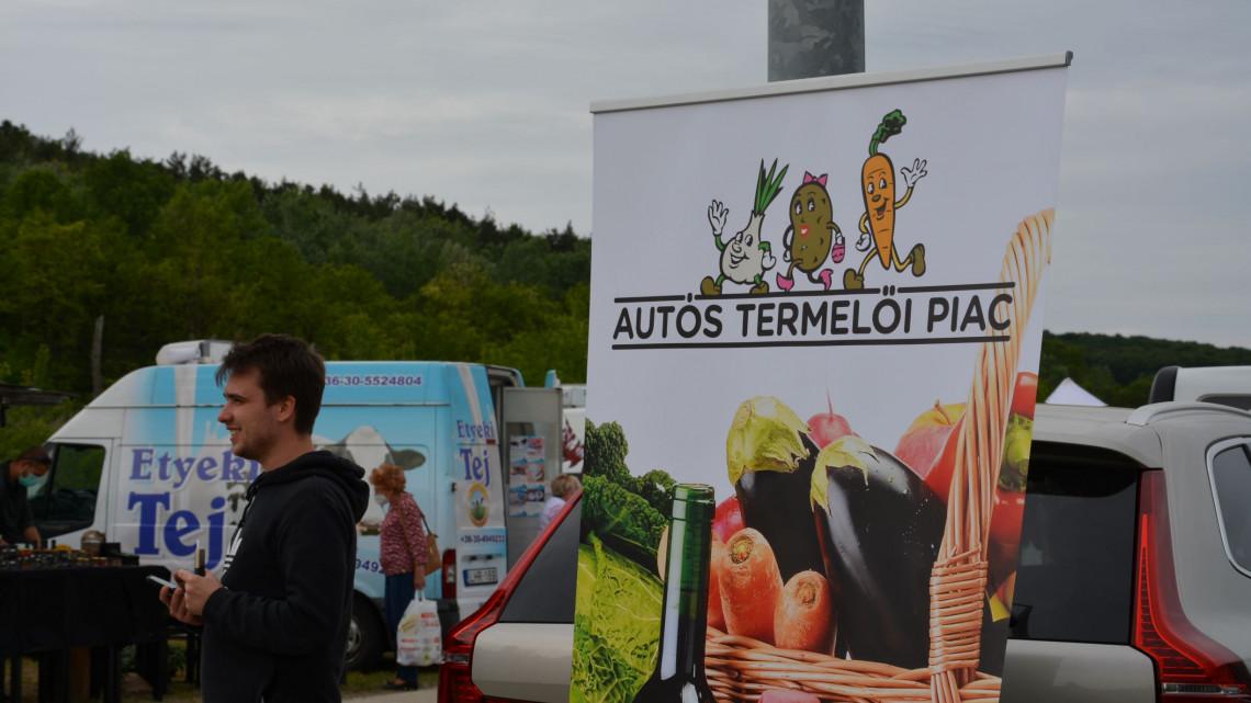 Olyan piac nyílt az M3-as autópálya mellett, amilyen még nem volt itthon + fotók