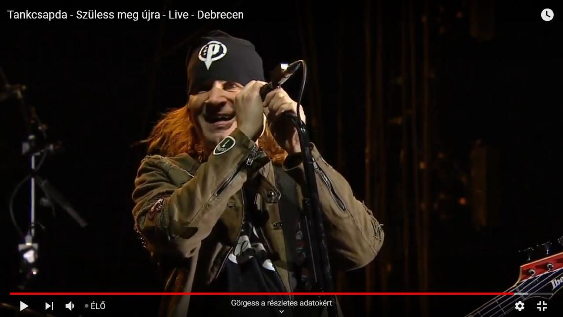 Így született meg újra a Tankcsapda Debrecenben - itt a teljes koncertvideó!