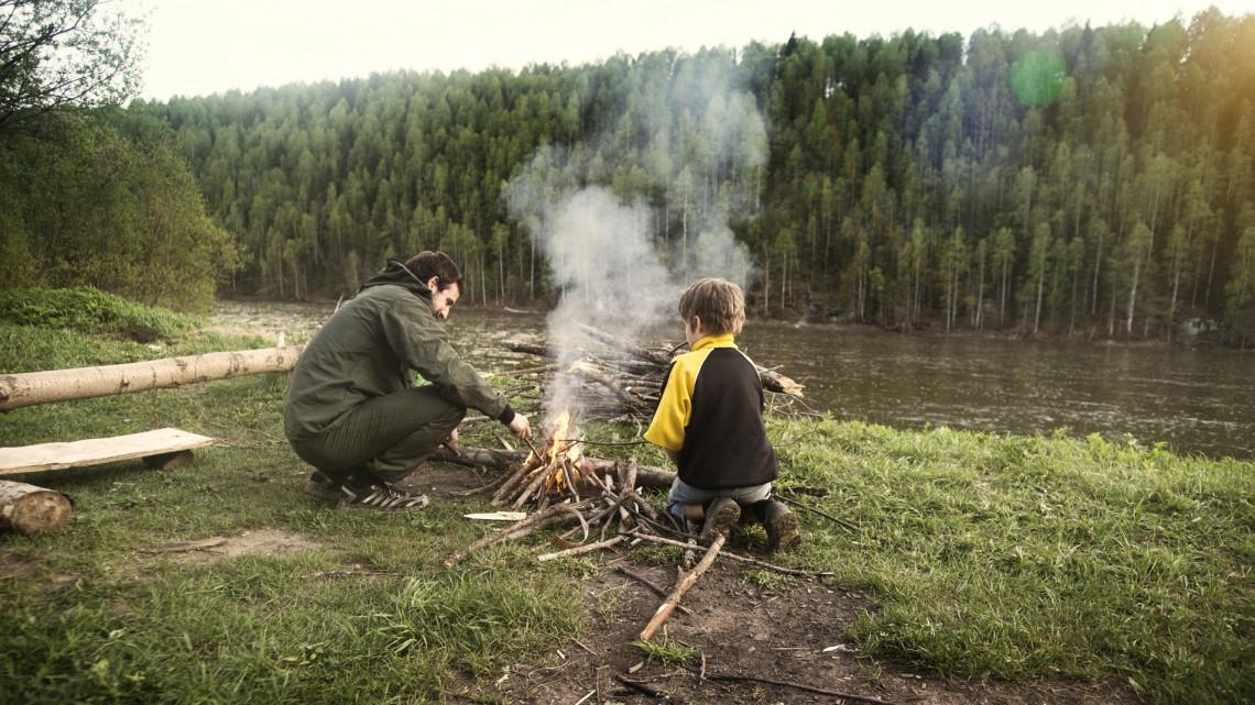 Feloldották a tilalmat: mától már ezekben a megyékben is lehet tüzet gyújtani