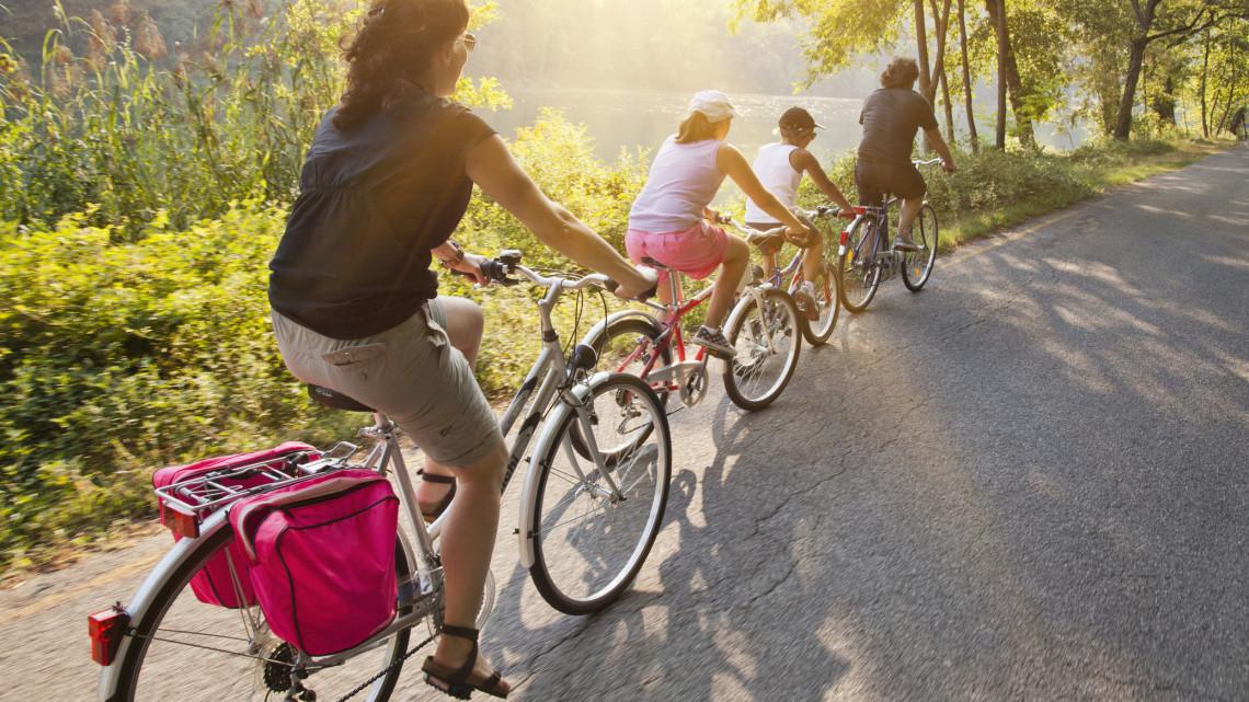 Jó hír a bicikliseknek: ebben a térségben több mint 600 milliót költenek kerékpáros fejlesztésekre