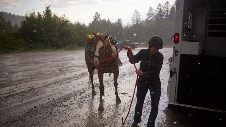 Életveszélyessé vált a pálya a lezúdult eső miatt: elmaradt Nemzeti Vágta első előfutama Gyenesdiáson