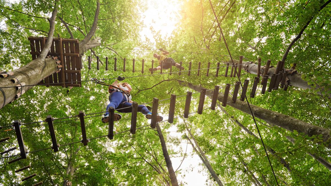 TOP 5 kalandpark Magyarország: Sobri Jóska kalandpark, Zemplén kalandpark és sokan mások