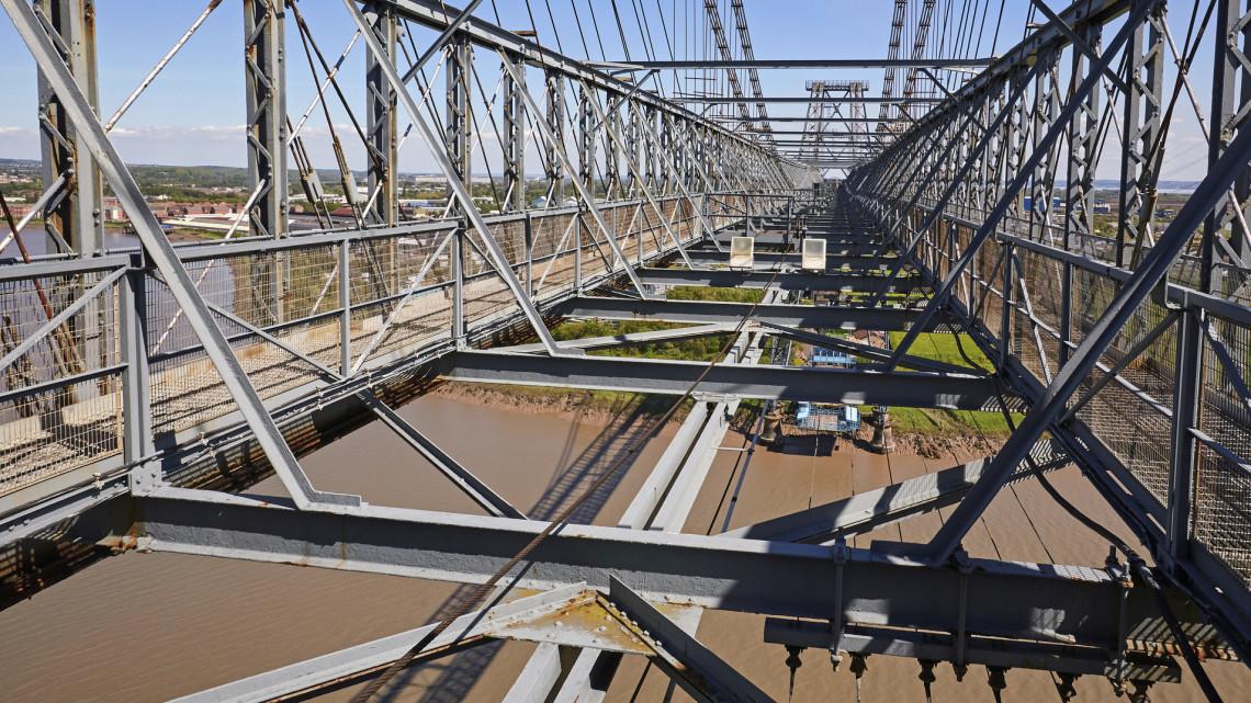 Elképesztő látvány: így épül az új vasúti híd