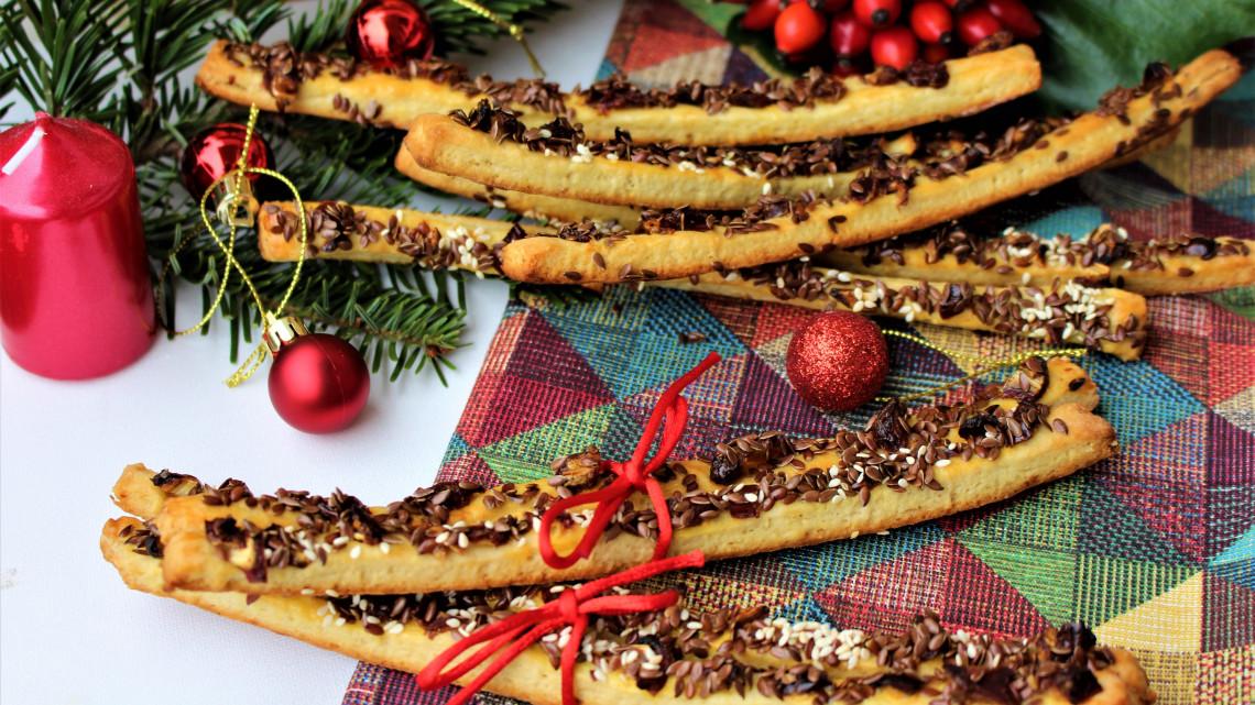A 3 legfinomabb sós sütemény karácsonyra: egyetlen tésztából, elfoglalt háziasszonyoknak