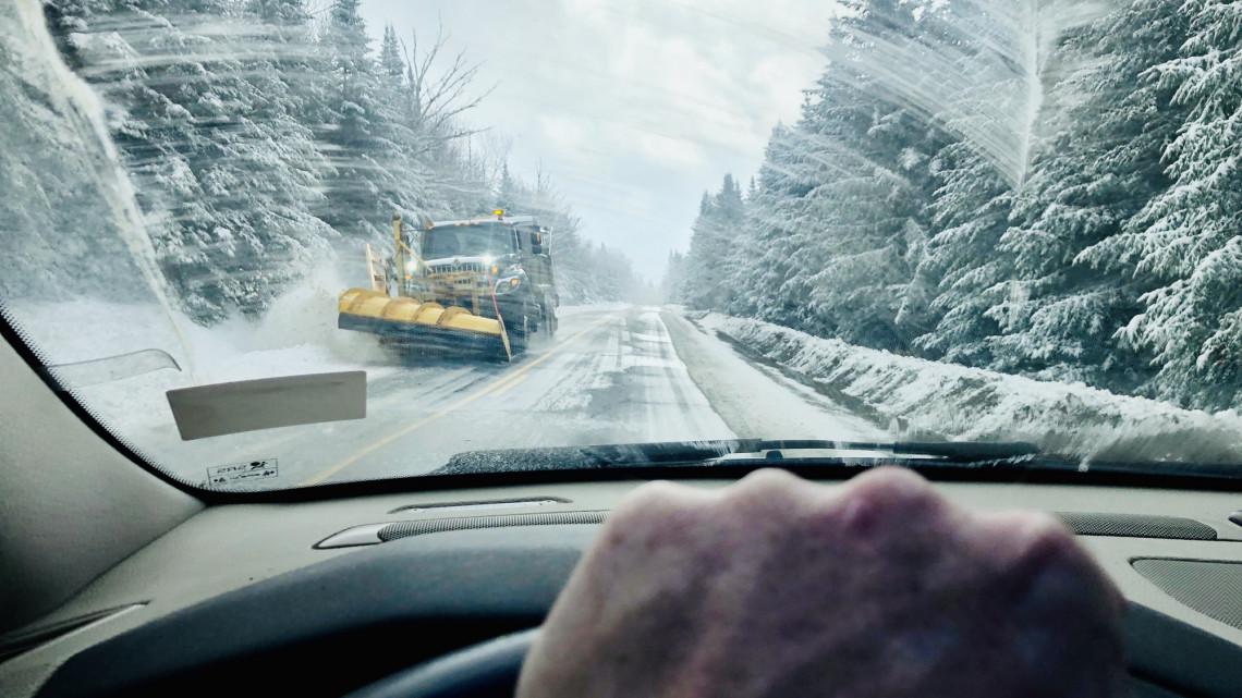 Itt várható intenzív havazas az országban: mutatjuk, mely területeket érint