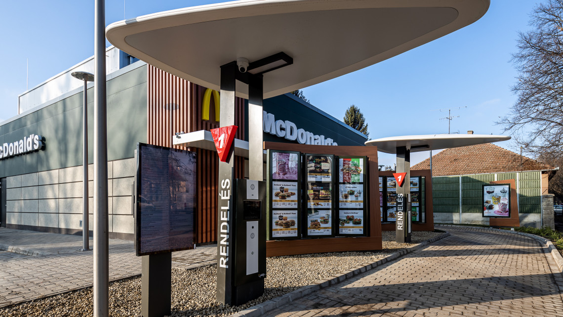 Ebben a vidéki nagyvárosban nyitották meg a legújabb McDonalds-ot