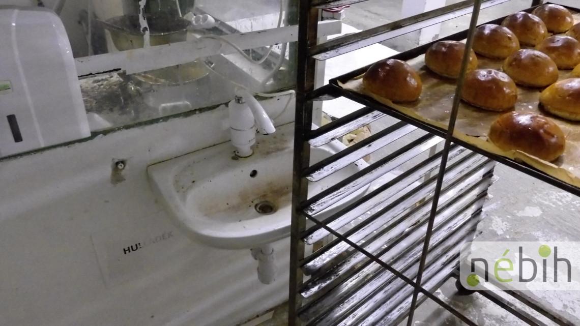 Kész horror: súlyos higiéniés állapotok miatt függesztettek fel egy pékséget + VIDEÓ