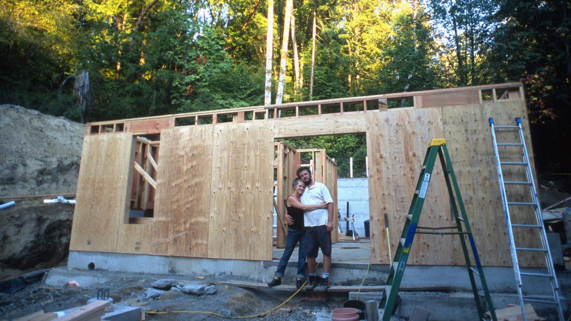 Építkezel? Ennyivel olcsóbb egy könnyűszerkezetes ház, mint a tégla