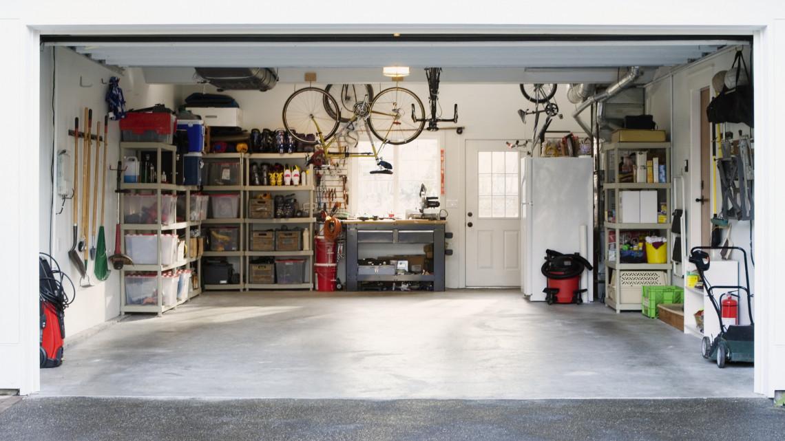 Fillérekből lehet a legtutibb tárolóhely a garázs: itt a 10 pontos ötletlista