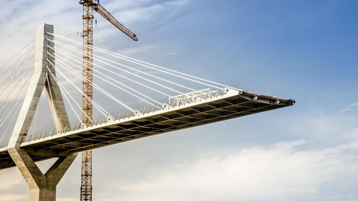 Milliárdos gigaberuházás a Dunán: épül az új forgalomkönnyítő híd